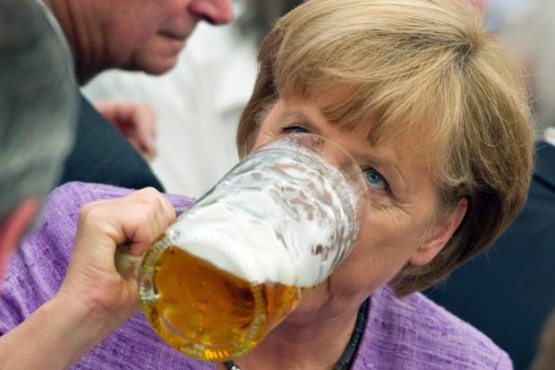 Merkel Alkohol