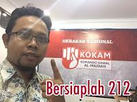 KOKAM Muhammadiyah: Jangan Lupa Merah Putih, 212 Kami Tunggu Dipatung Kuda