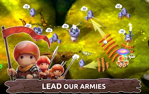 Mushroom wars 2 Apk+Data Free on Android Game Download