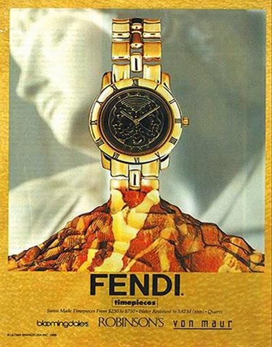 9fdbebd257de Primer reloj de Fendi. Fuente  Fendi