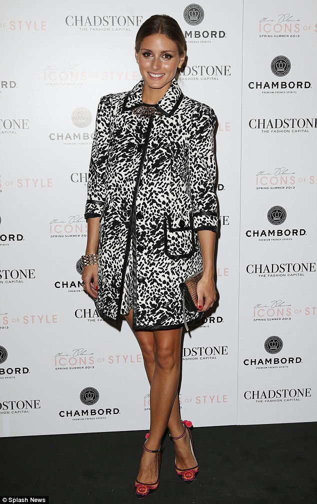 The olivia palermo lookbook olivia palermo at the chadstone icons of style fashion show in Healing with style fashion show