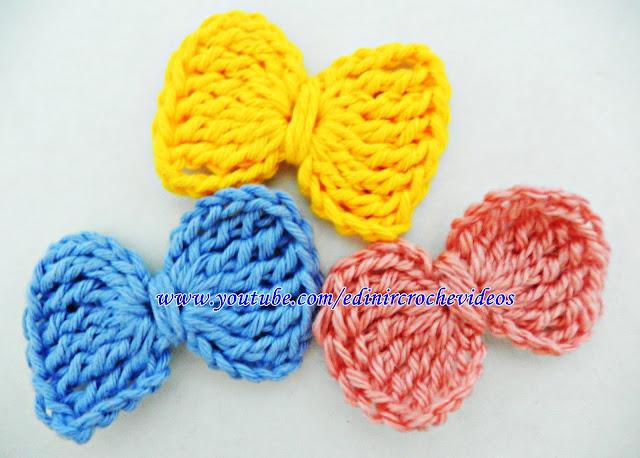 aprender croche laço decoração acessório edinir-croche curso de croche