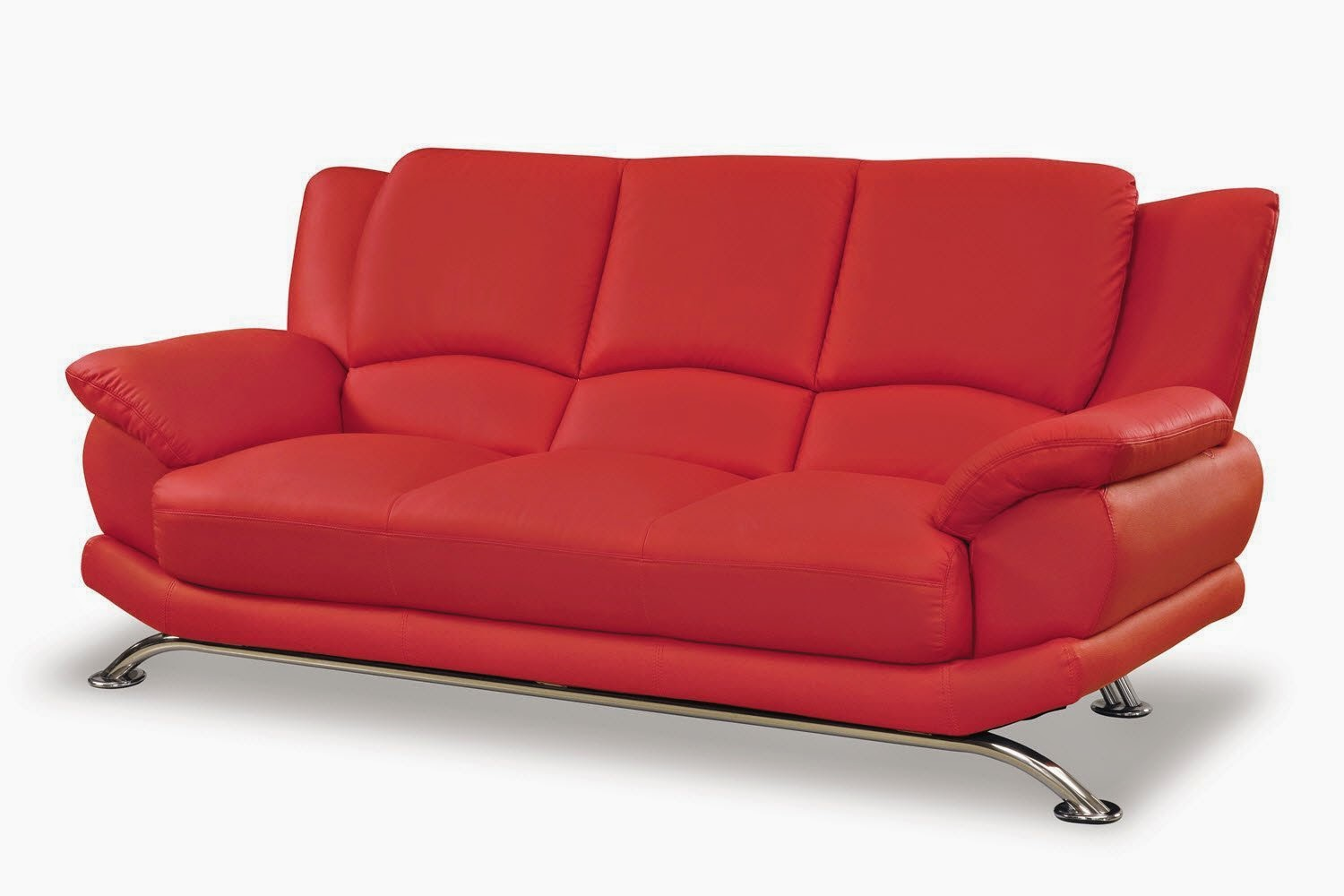 leather red sofa clearance ireland