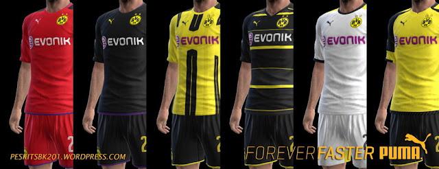 PES 2013 Borussia Dortmund Kit Season 2016/2017