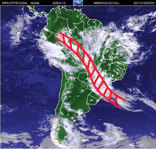 Aviso de chuva forte para o Nordeste nos próximos dias
