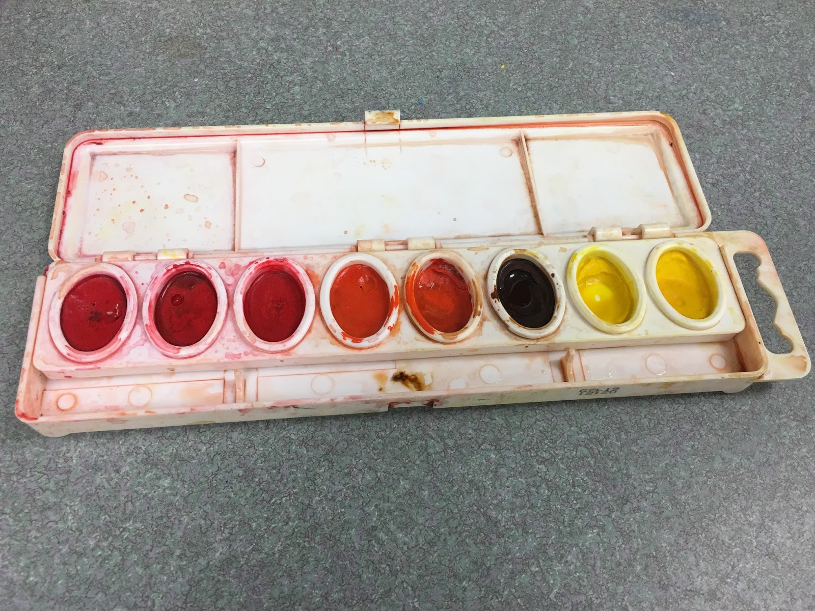 Art Room Blog: Watercolor Station