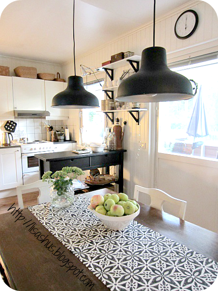 lisas hus torsdagstema ljuspunkter. Black Bedroom Furniture Sets. Home Design Ideas