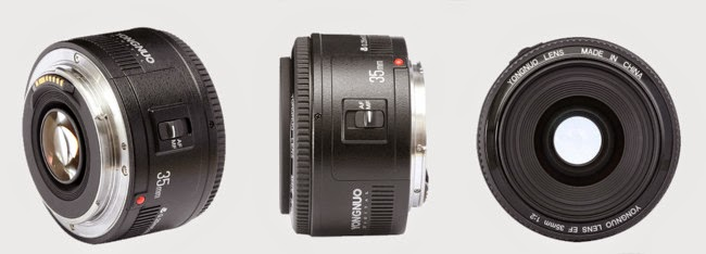 Yongnuo 35mm f2 vs Canon 35mm1
