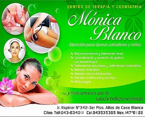MONICA BLANCO – CENTRO DE TERAPIA Y COSMIATRIA