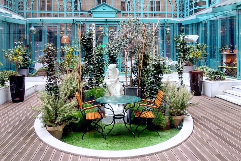 Mes Adresses Jardin D Hiver A L Hotel The Westin Paris Vendome
