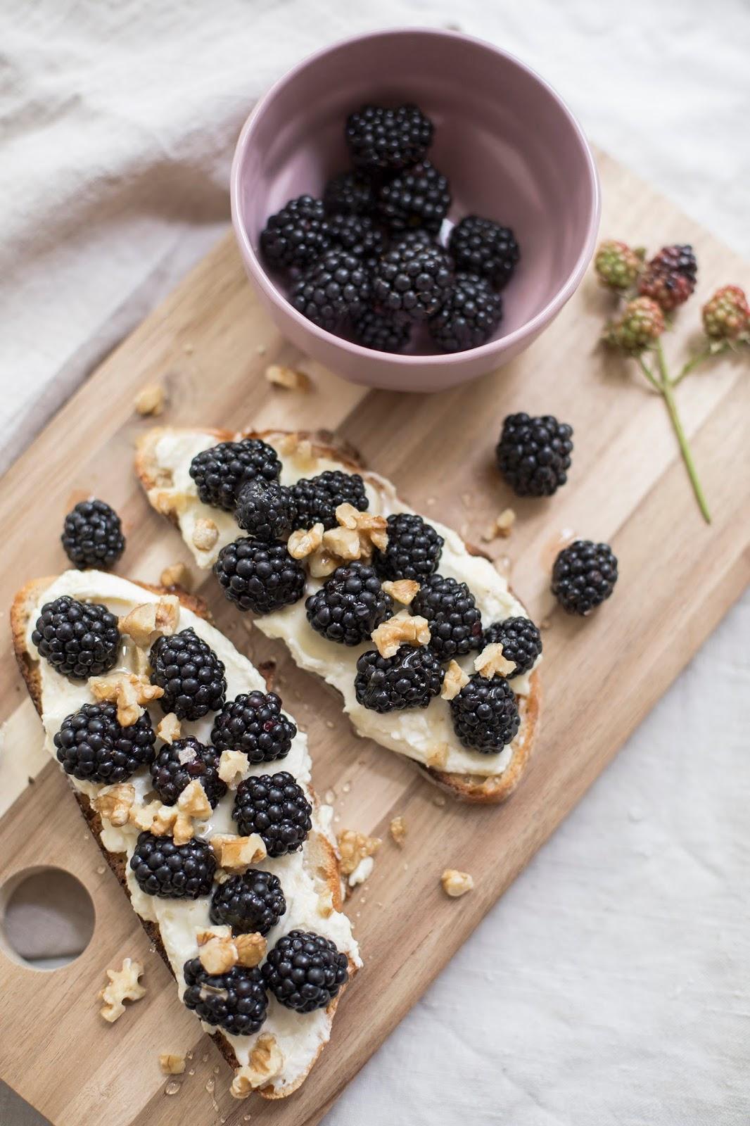 Sweet Bread mit Brombeeren Rezept