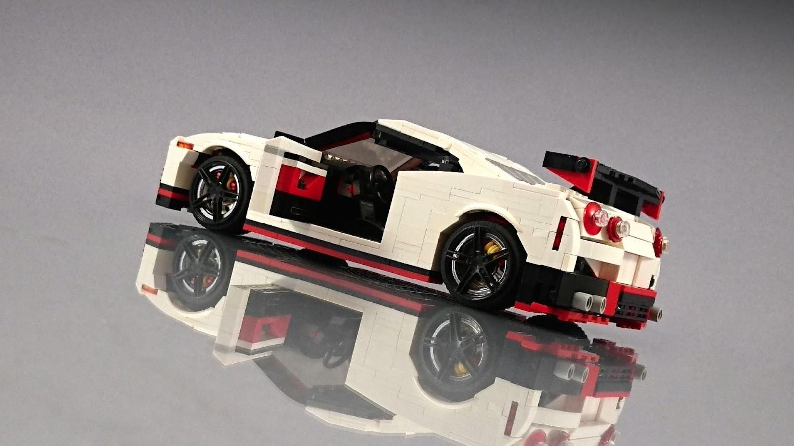 Nissan GT-R Nismo Fan Creates His Own Lego Masterpiece ...