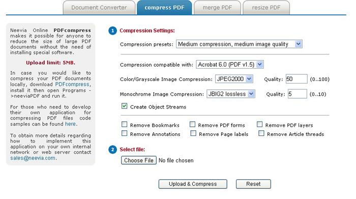 Pdf File Compressor