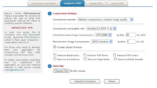 Reduce PDF files size easily.