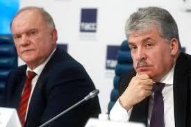 P. Groudinine, le candidat surprise des communistes aux présidentielles russes dans - ECLAIRAGE - REFLEXION PC2