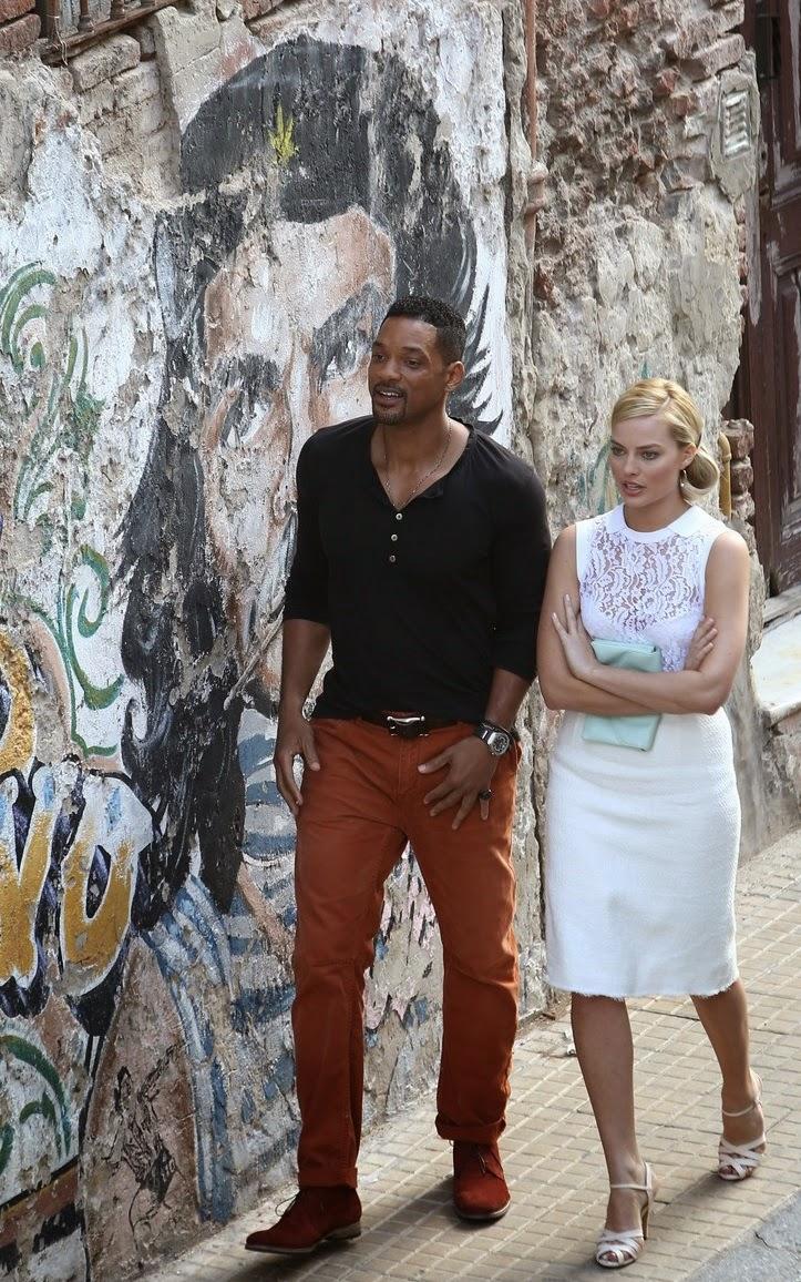Focus Pel 237 Cula Protagonizada Por Will Smith Y Margot Robbie Pelicula Trailer