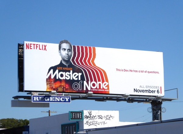 Master of None special extension billboard