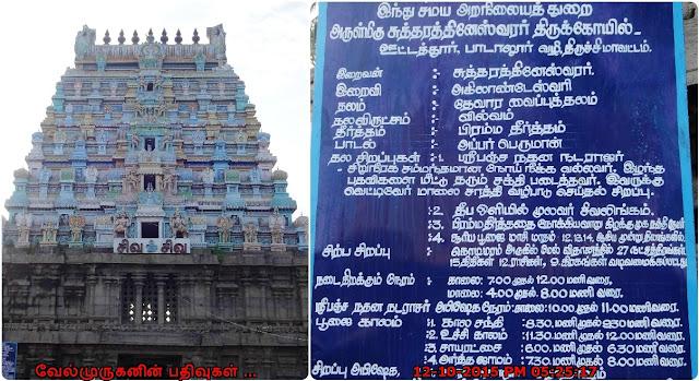 Ottathur Thevara Vaippu sthalams