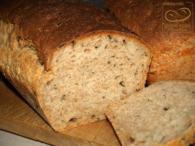 Chleb orkiszowy ze szczypiorkiem