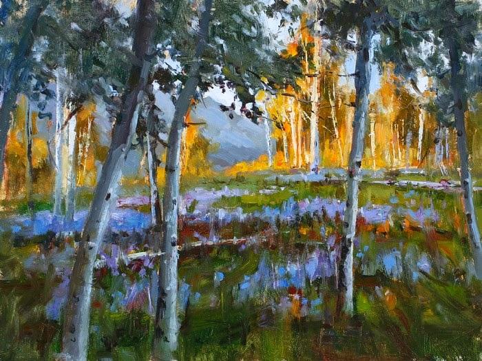 Пленэр художник. Jim Wodark