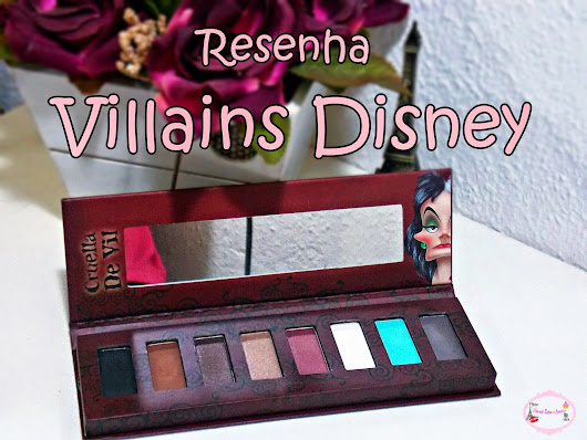 Resenha: Paleta das vilãs da Disney ( Vult Make Up)