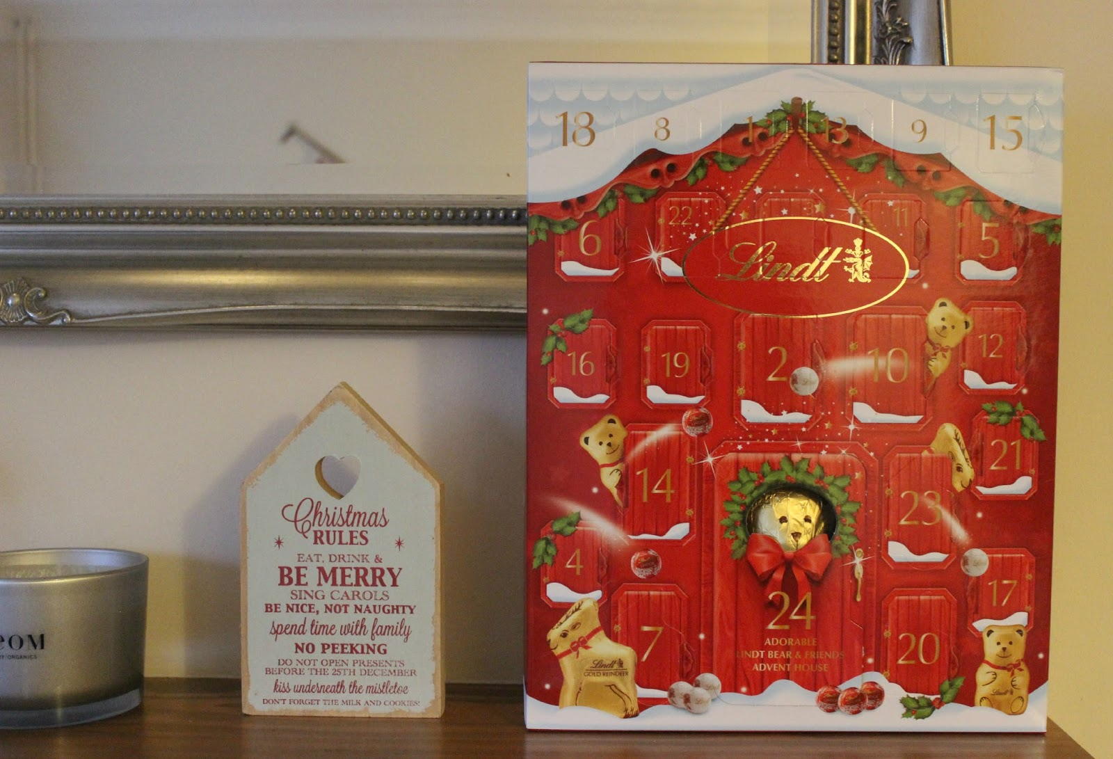 A picture of the Adorable Lindt Bear and Friends Advent Calendar