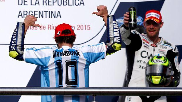 Pebalap Terkenal Italy Valentino Rossi Dan Empat Rekor Di MotoGP Argentina 2019