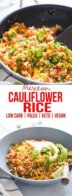 5 Ingredients Cauliflower Rice
