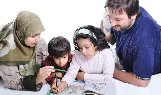 Sukses Mendidik Anak Berawal dari Kompak dan 3 Kunci ini Diamalkan Oleh Ayah Bunda