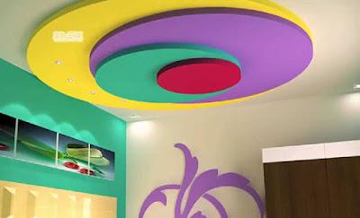 simple POP design for false ceiling ideas for kitchen