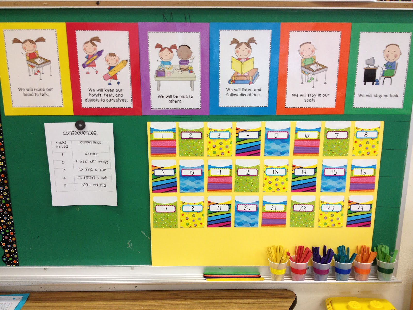 Classroom Job Ideas Elementary ~ New behavior system mrs pauley s kindergarten