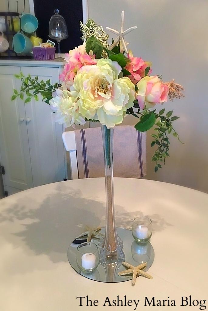 The Ashley Maria Blog Diy Wedding Centerpieces