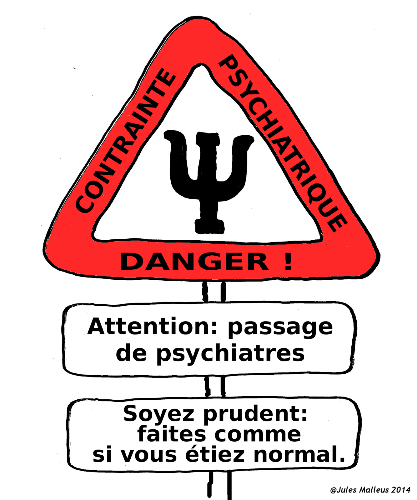 Attention !  Danger !