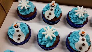Cupcake frozen para Festa infantil