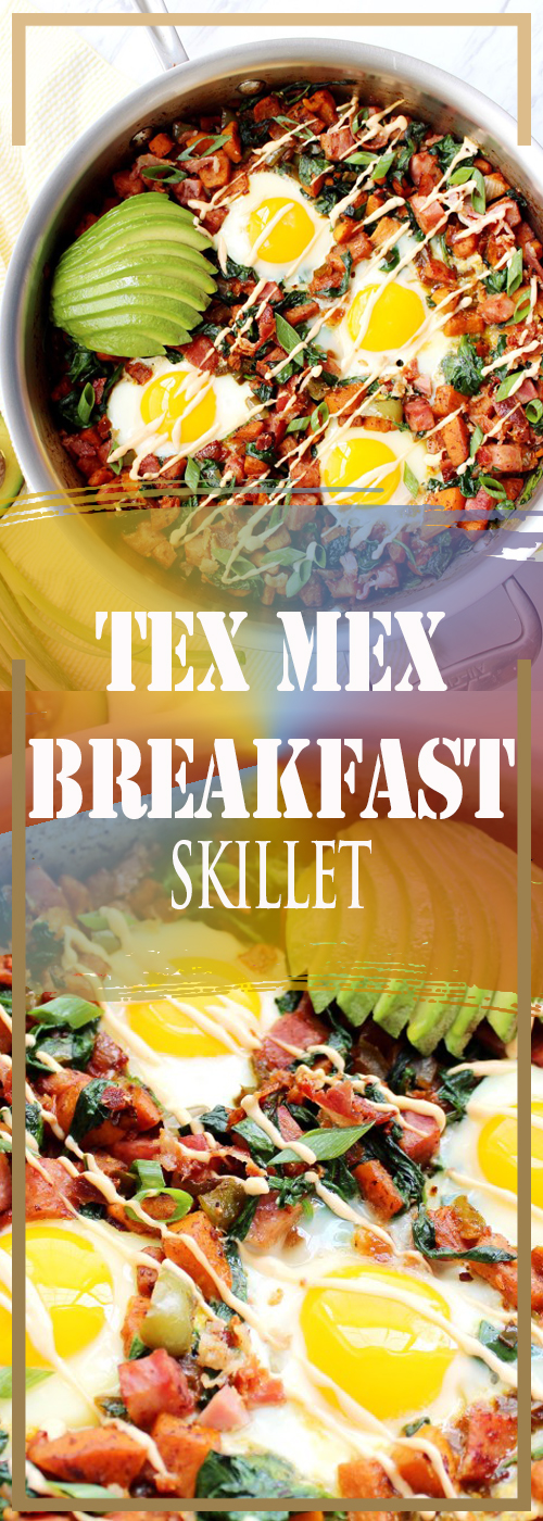 TEX MEX BREAKFAST SKILLET RECIPE