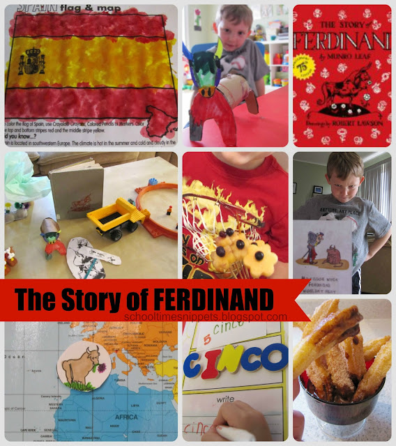 Ferdinand Five In A Row Activities