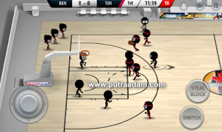 Stickman Basketball 2017 MOD APK v1.1.1 Terbaru Full Premium Unlocked