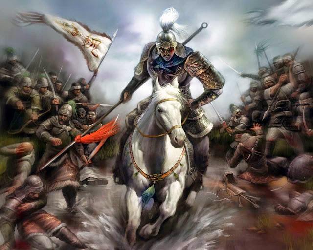 Chapter 18 ; Giving Counsels, Jia Xu Directs A Great Victory; Braving Battlefield, Xiahou Dun Loses An Eye.