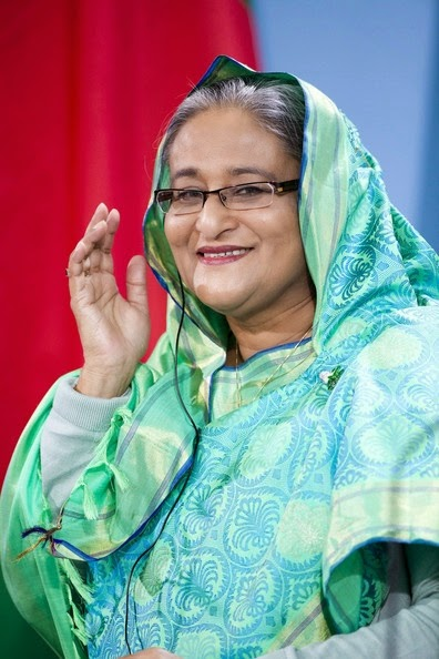 Sheikh Hasina Wajed is the president and head of the Bangladesh Awami League. She is the daughter of Sheikh Mujibur Rahman