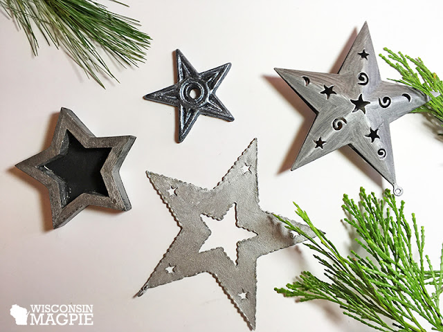 star Christmas ornaments