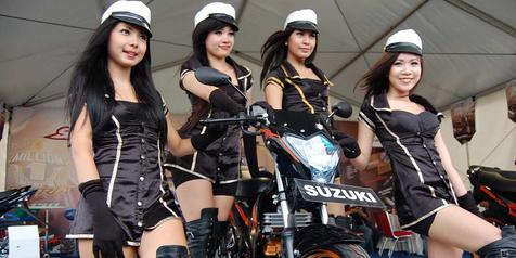 Suzuki Mega Camp Makassar Tebar Diskon Motor Rp 2,4 Juta