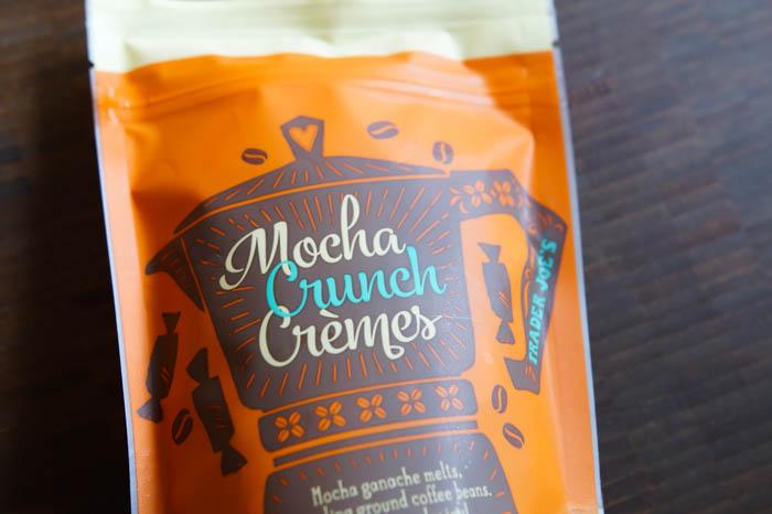 Trader Joe's Mocha Crunch Cremes
