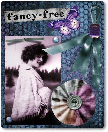 Fancy Free ATC Altered Art