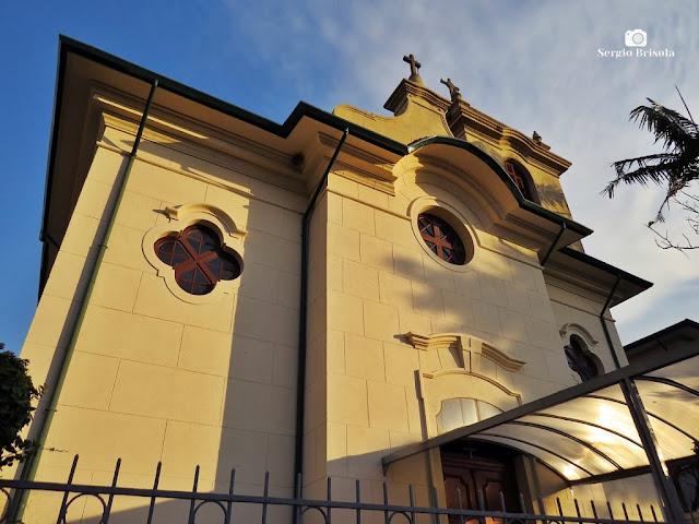 Fachada da Capela de Sant'Anna - Ipiranga - São Paulo