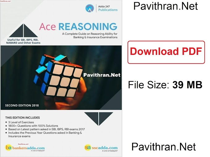 Ace Reasoning Paid e-Book from Adda247 PDF Download