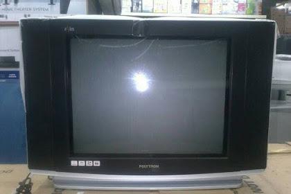 Mengatasi Kerusakan TV polytron bisa hidup sebentar kemudian mati lagi