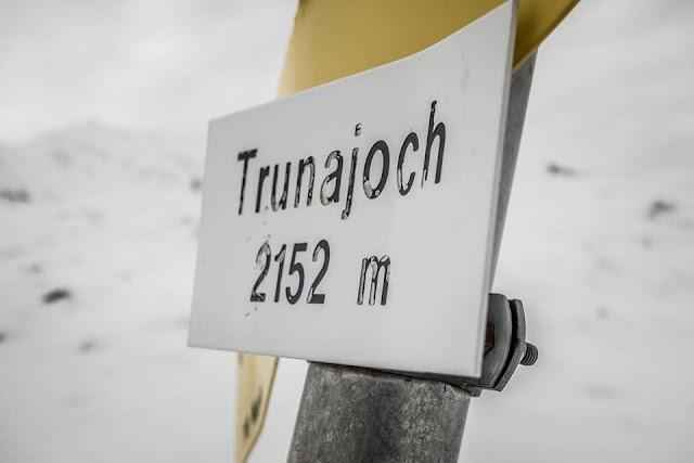 Alpencross Trunajoch Fatbike Witner