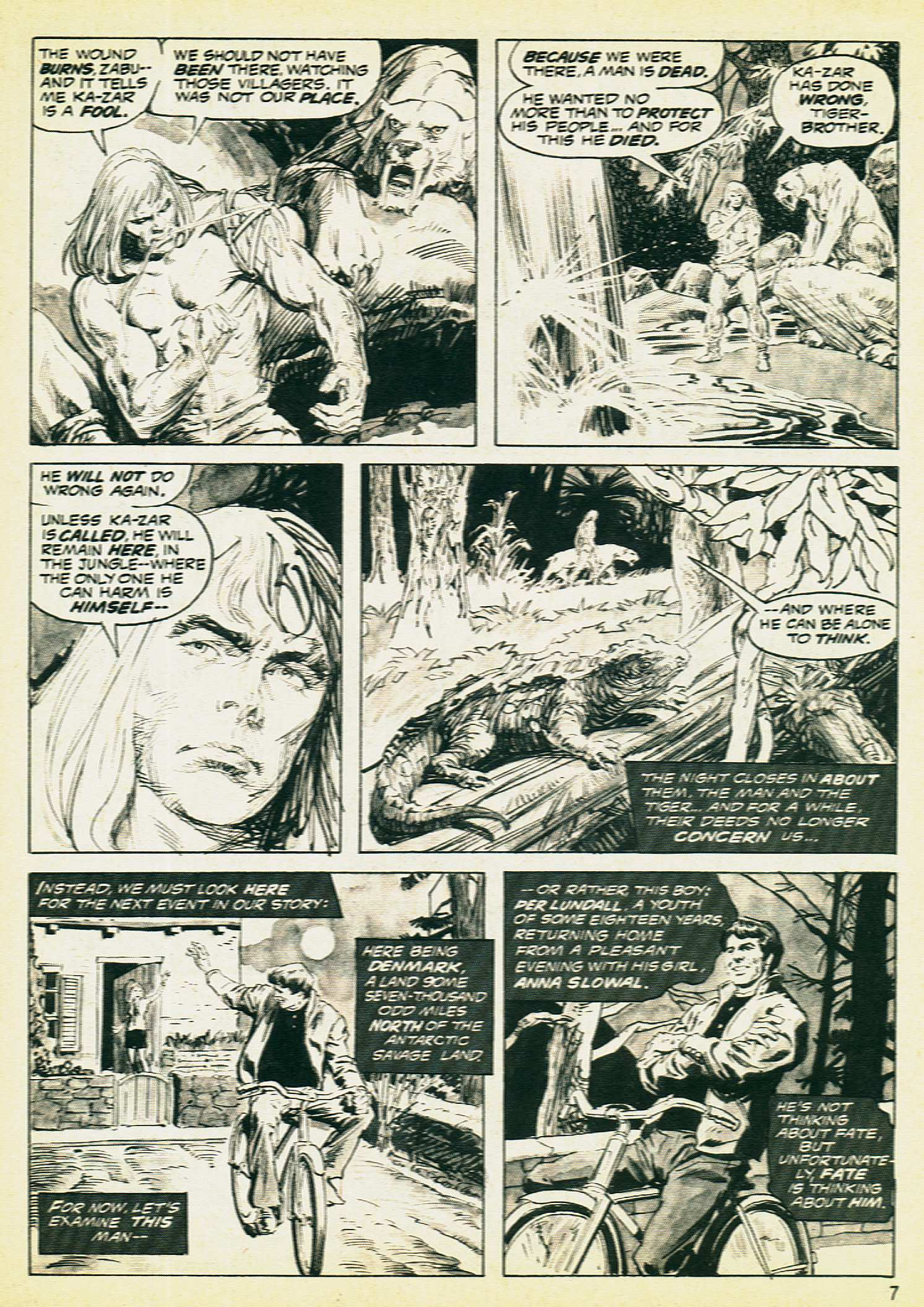Savage Tales issue 8 - Page 5