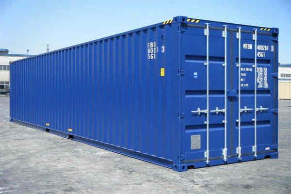 Trọng lượng vỏ container 40 feet