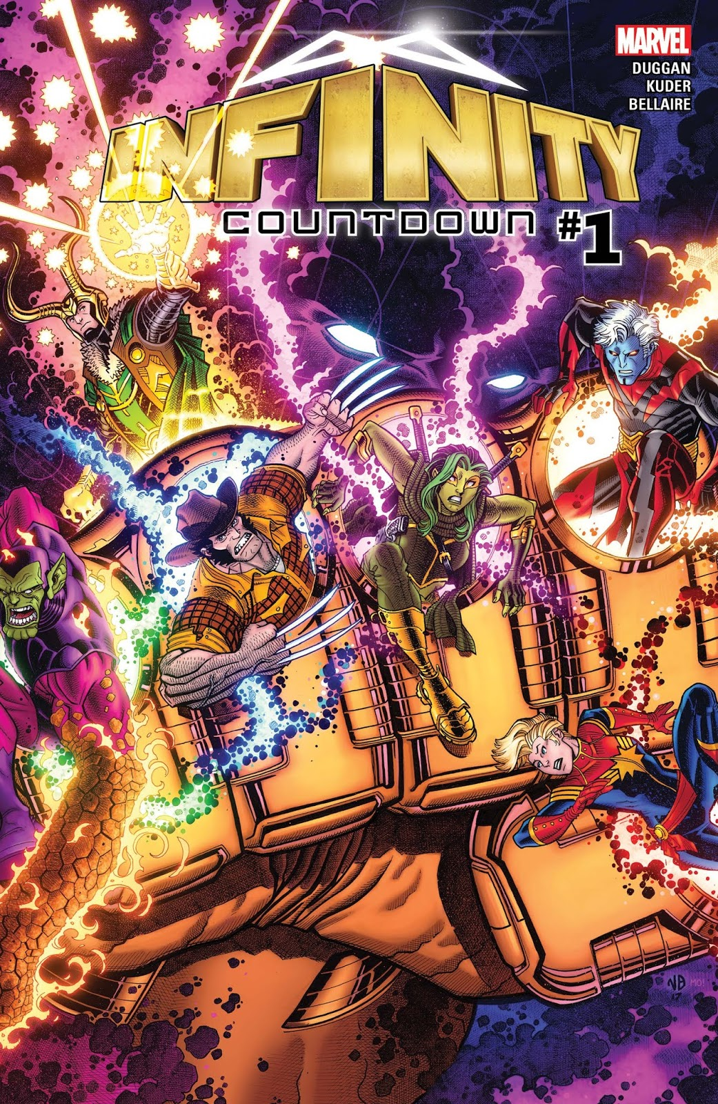 MARVEL UNLIMITED infinity